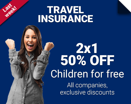 Family Travel Insurance 50% OFF